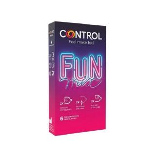 CONTROL FUN PRESERVATIVOS MIX 6 U