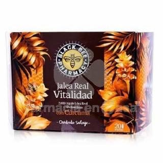 BLACK BEE PHARMACY JALEA VITALIDAD 20 VIALES 10