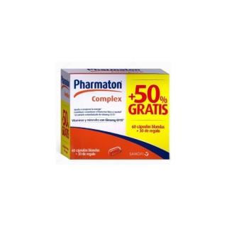 PHARMATON COMPLEX CAPS 60 + 30 CAPSULAS PACK PRO