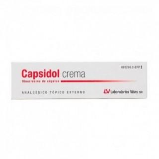 CAPSIDOL 0.25 MG/G CREMA 30 G