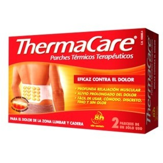 THERMACARE ZONA LUMBAR Y CADERA 2 PARCHES TERMI