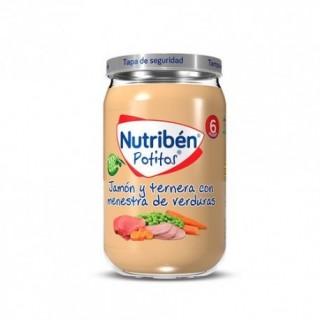 NUTR POLLO Y TERNERA CON VERDURITAS