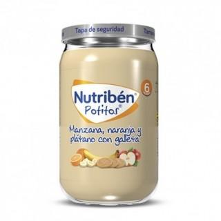 NUTR MANZ. NARANJA PLATANO Y GALLETA