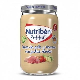 NUTR GUISO DE POLLO Y TERNERA CON JUD.VER.