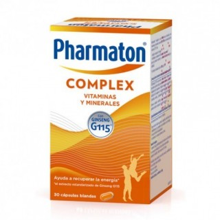 PHARMATON COMPLEX 30 CAPS