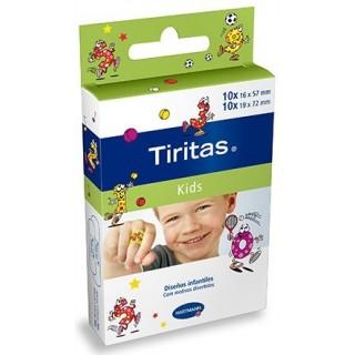 TIRITAS KIDS APOSITO 2 TAMAÑOS 20 U